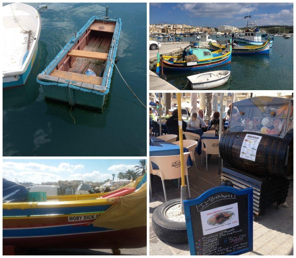 Marsaxlokk waterfront