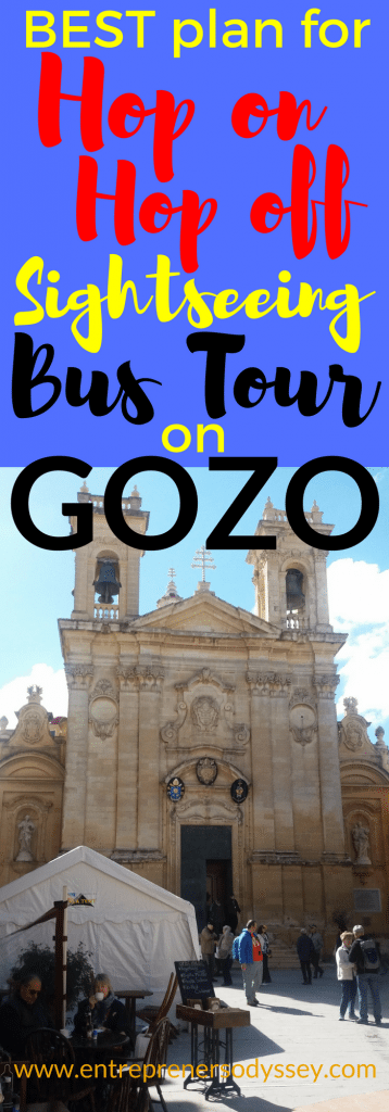 Best plan for Hop on Hop off bus tour on Gozo
