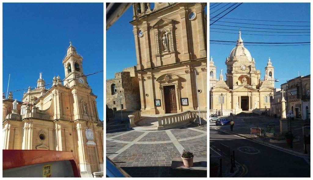 Church after church on Gozo