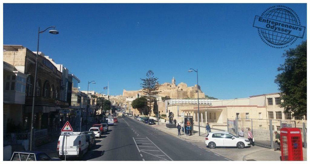 Citadel in Victoria on Gozo