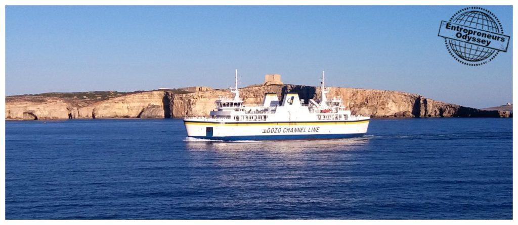 Gozo channel line ferry between Malta & Gozo