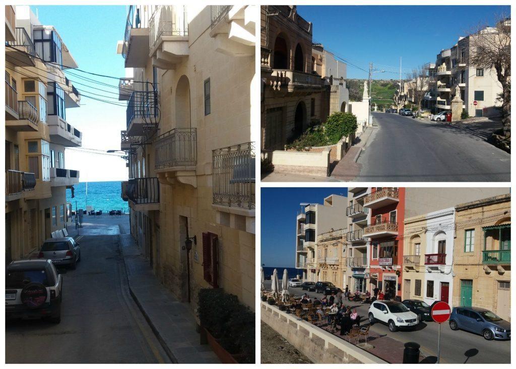 Marsalforn village on Gozo