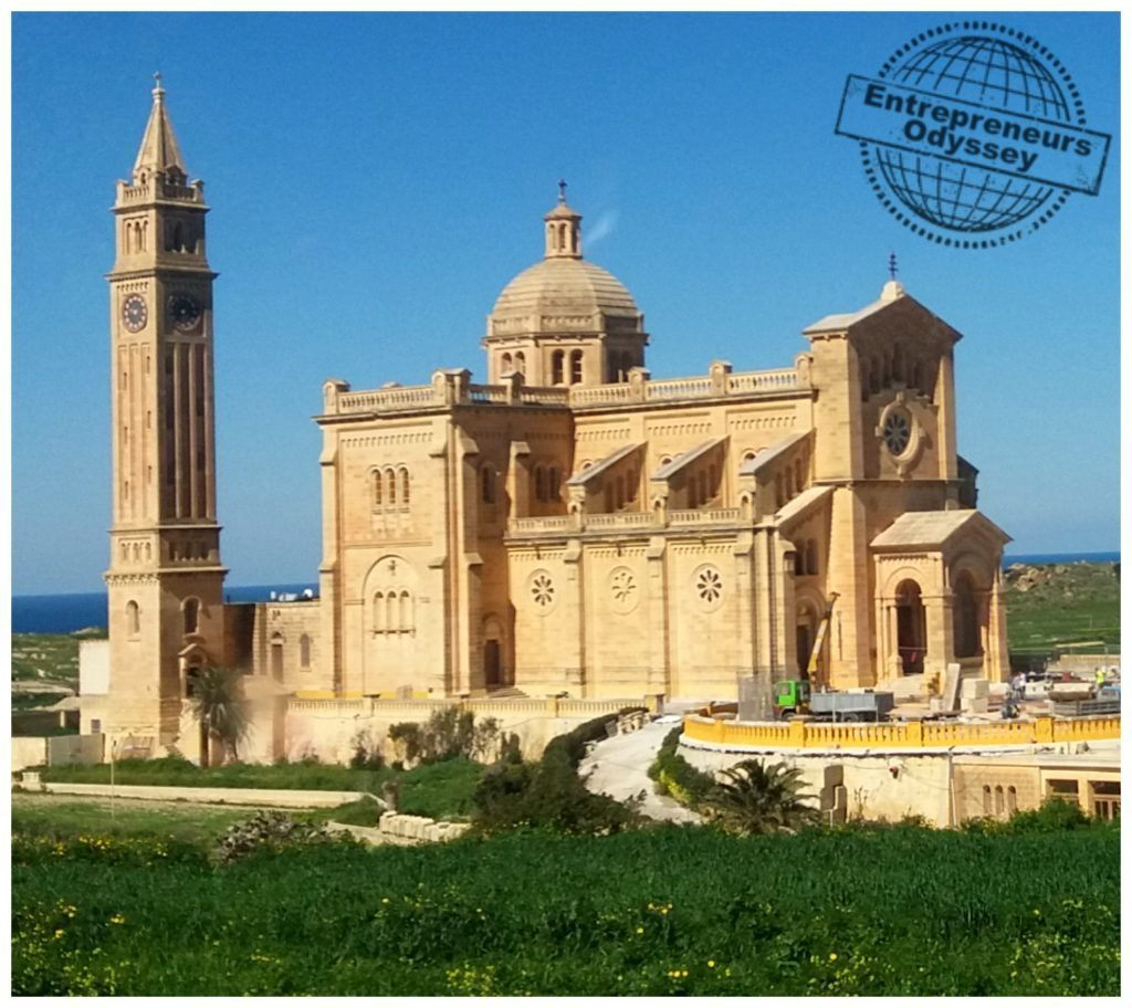 Ta'Pinu Shrine on Gozo