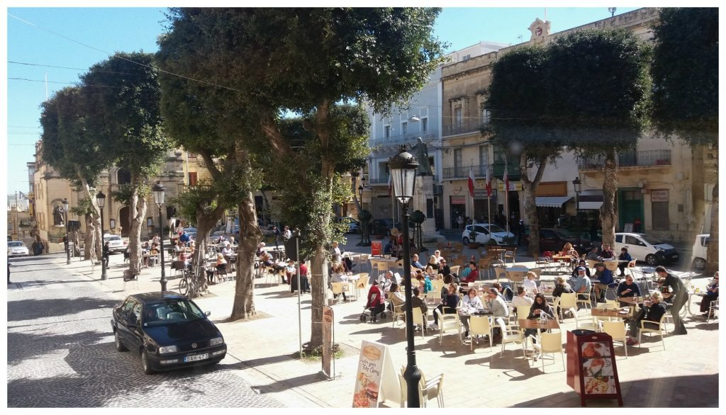 Victoria square on Gozo