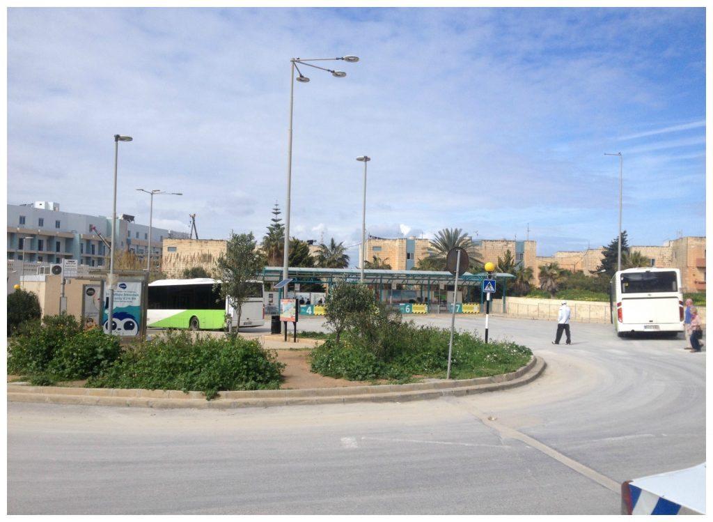 Bugibba bus station