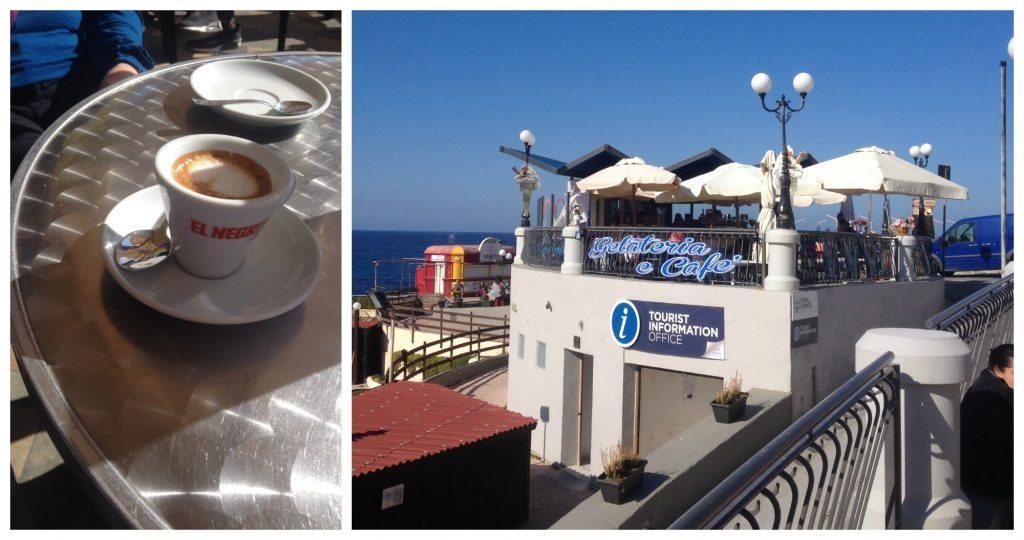 Gelateria e Cafe macchiato