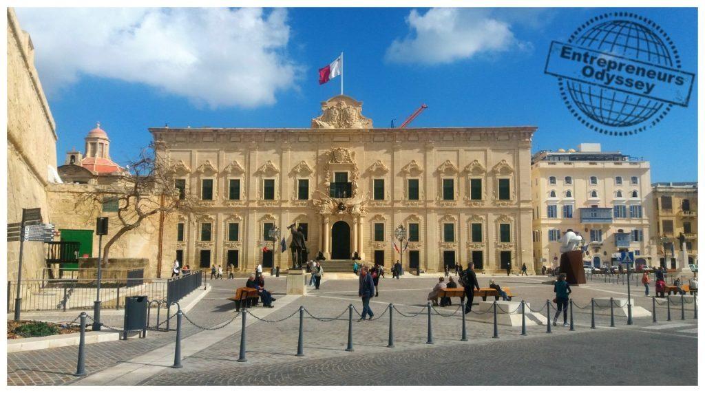 Auberge de Castille - Il-Berġa ta' Kastilja, Valletta