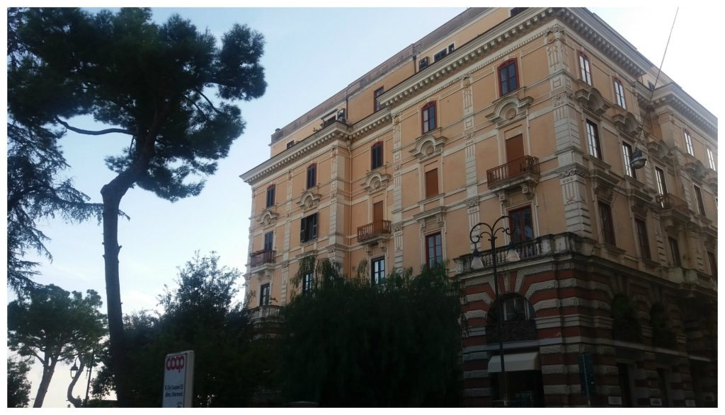 Buildings in Formia
