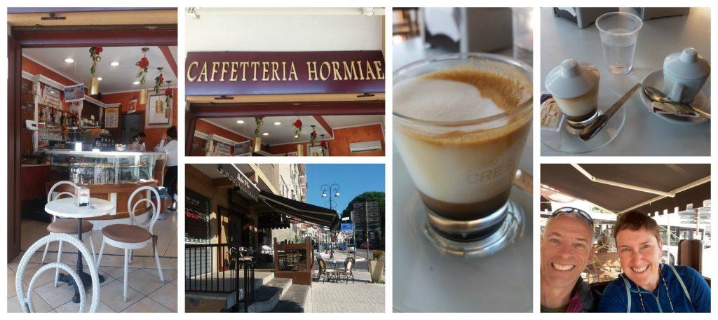 Caffetteria Hormiae in Formia