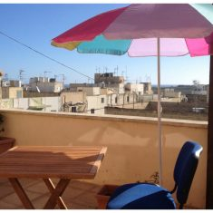 Front terrace view in Malta