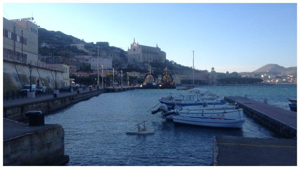 Gaeta port