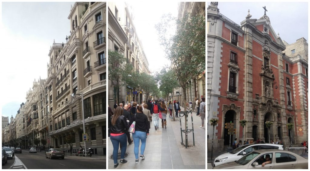 Images from Madrid