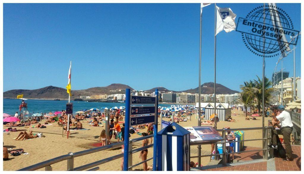 Las Canteras beach Las Palmas