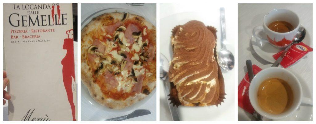 Lunch at Gemelle in Gaeta