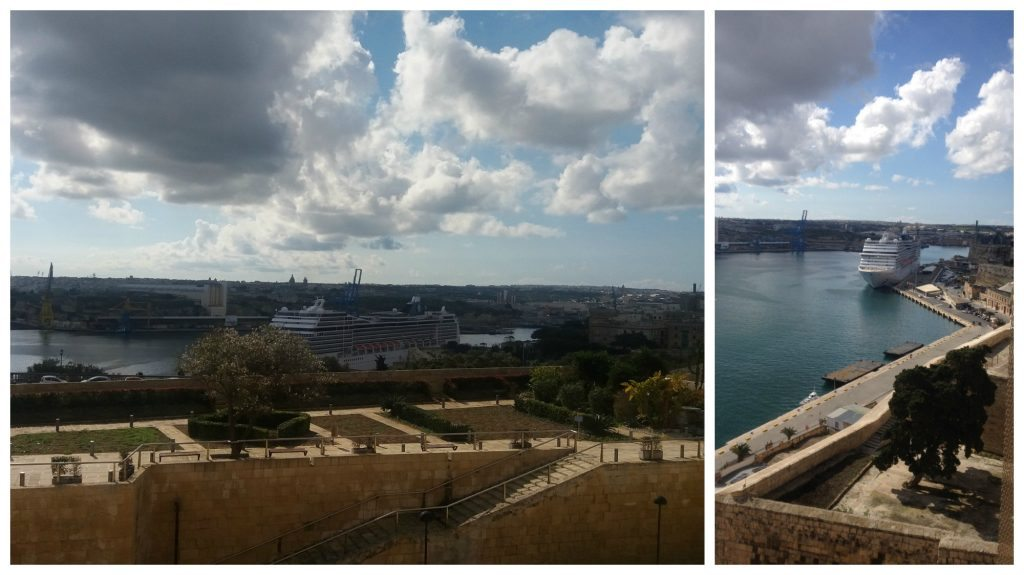 MSC Magnifica in Valletta port