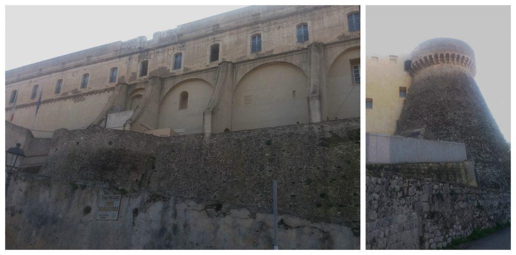 Military area in Gaeta