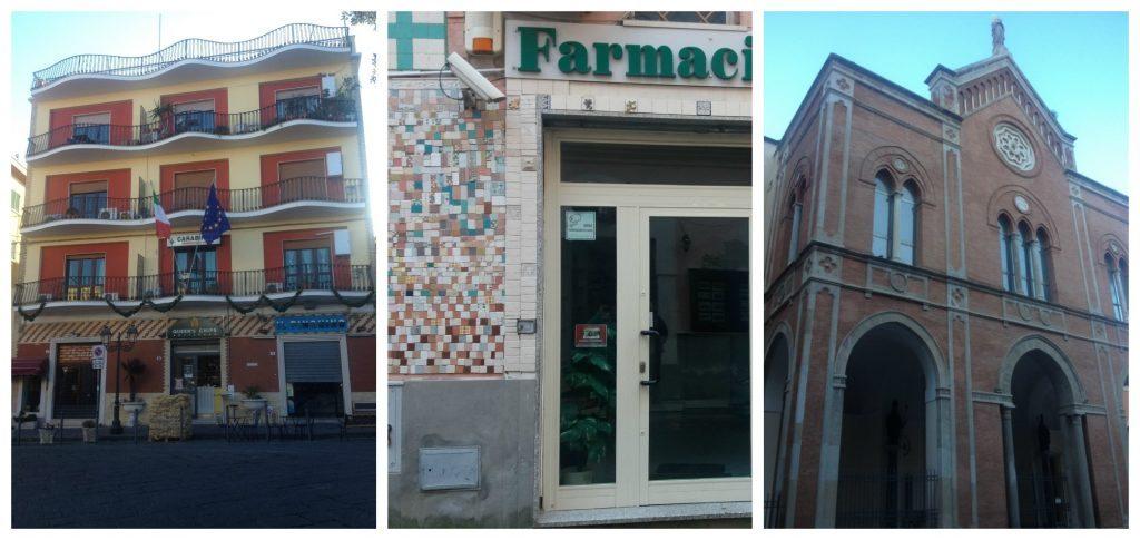 Police station, Pharmacy & Arcidiocesi di Gaeta