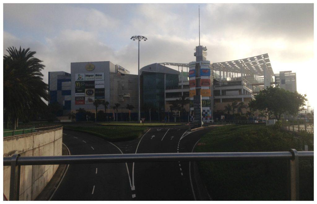 Shopping center at the port La Luz
