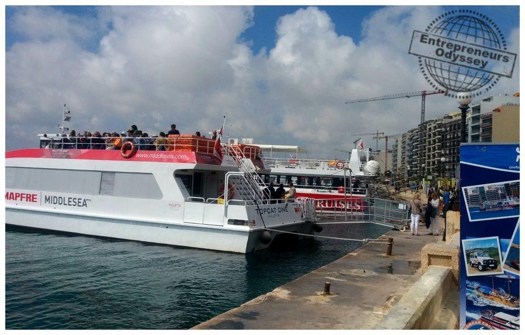 Sliema to Valletta ferry
