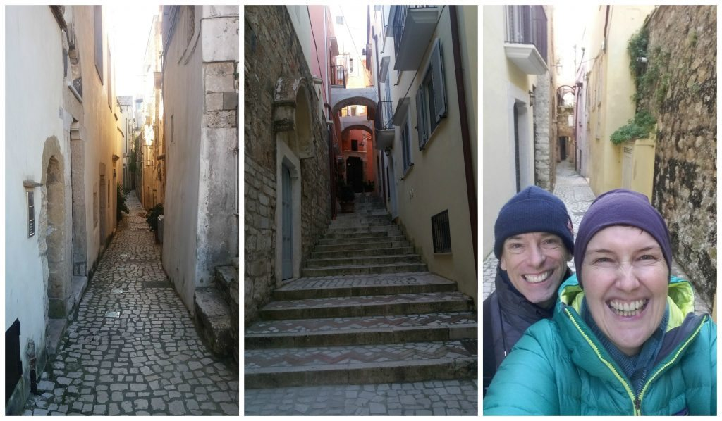 Small streets of Gaeta
