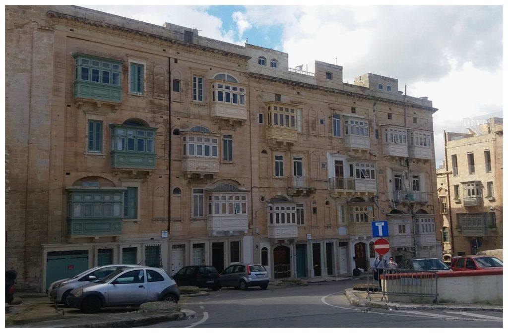 Typical Maltese balcony's