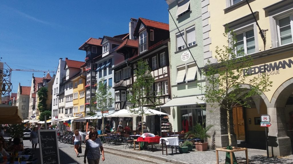 The Old town on Lindau