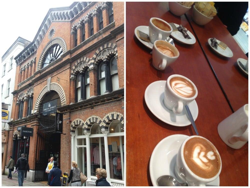 English Market & Good Coffee in Cork