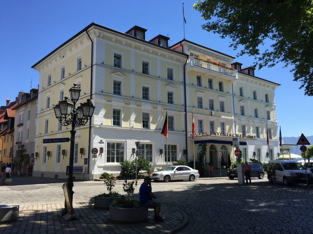 Hotel Bayerischerhof on Lindau
