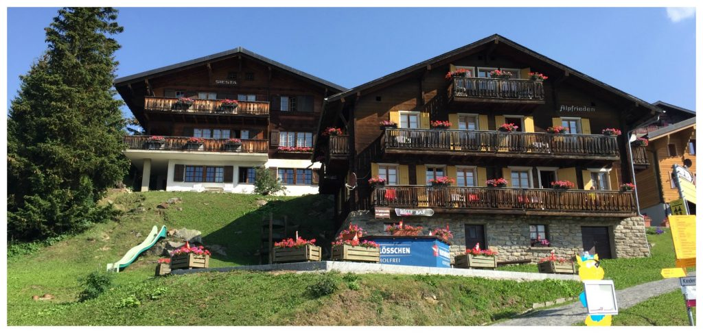 Beautiful chalets for holiday adventures in the Bettmeralp