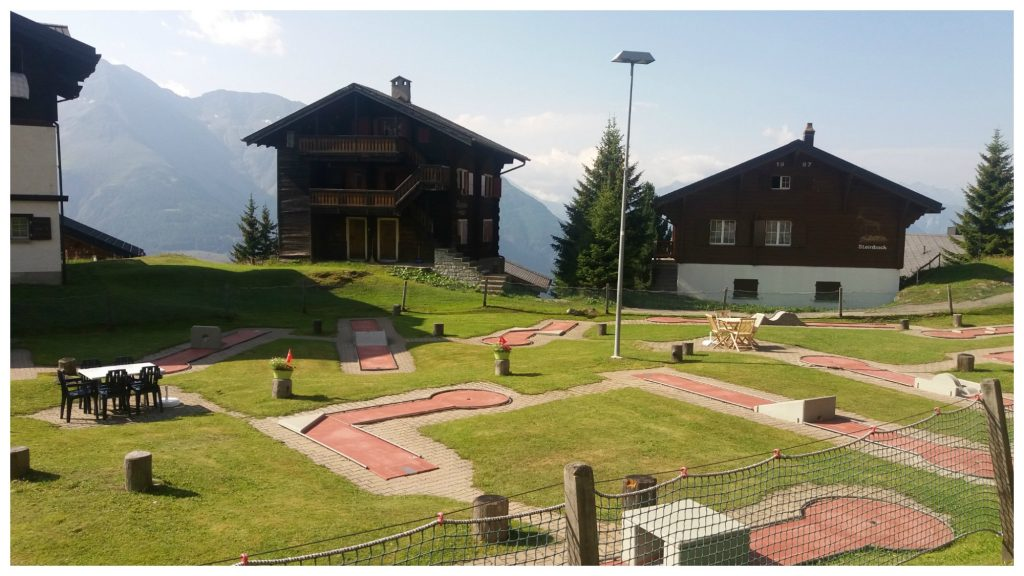 Bettmeralp minigolf