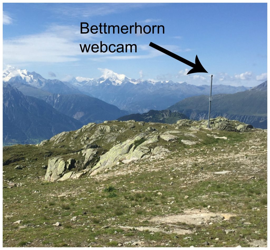 Bettmerhorn webcam