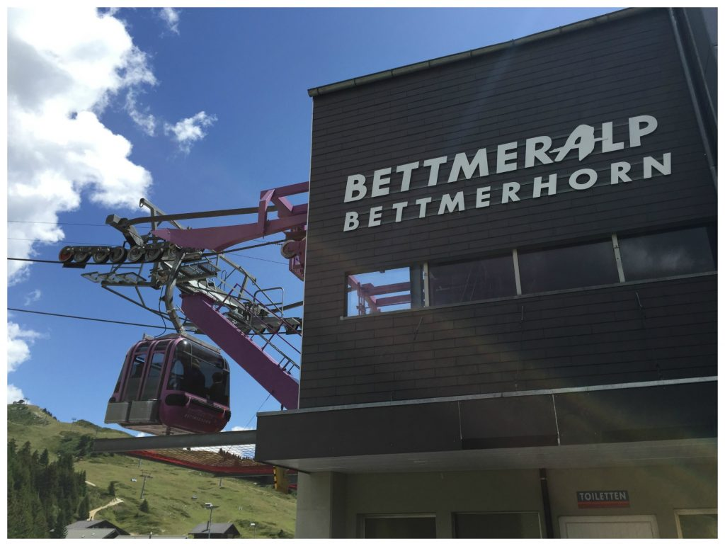 Bottom gondola station Bettmeralp