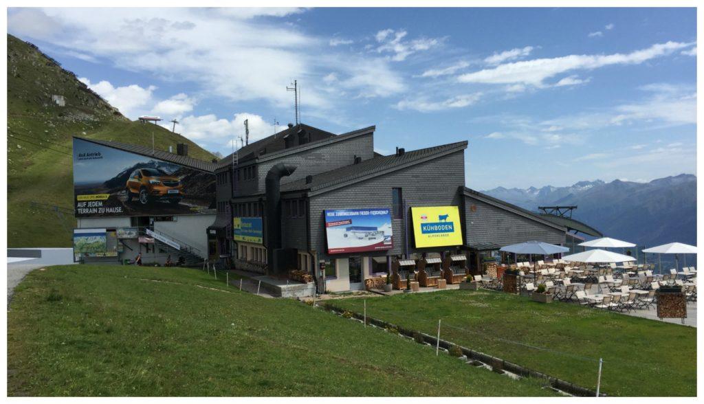 Gondola station Fiescheralp