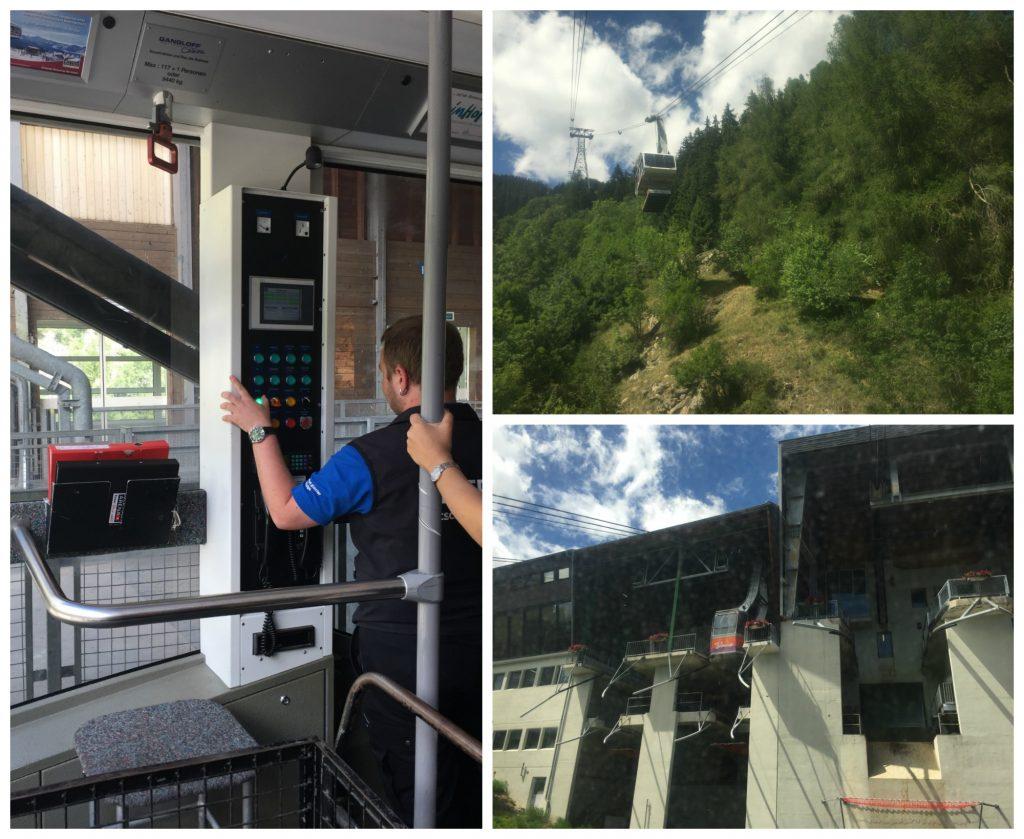 Gondola to the top Bettmeralp station