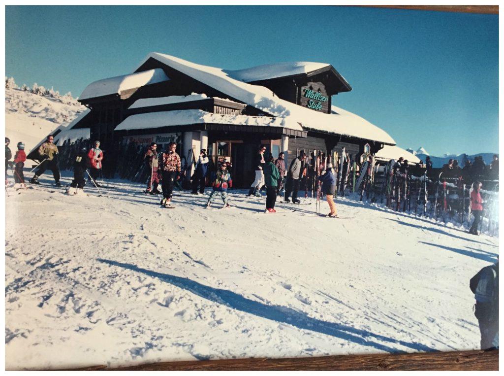 How the Walliser Stube looks in winter