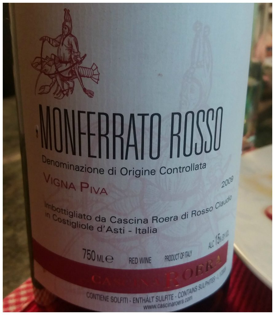 Cascina Roera - Monferrato Rosso Vigna Piva 2009