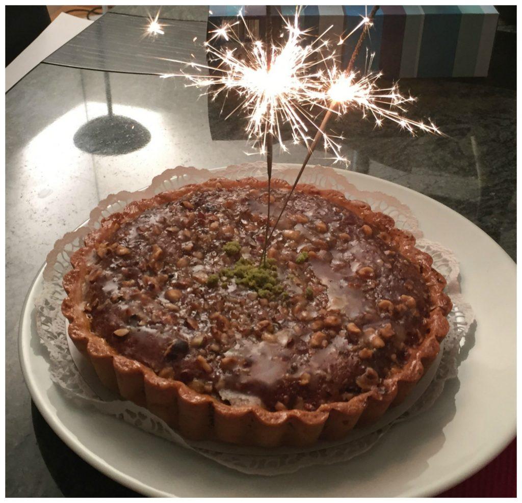 Nut torte for dessert