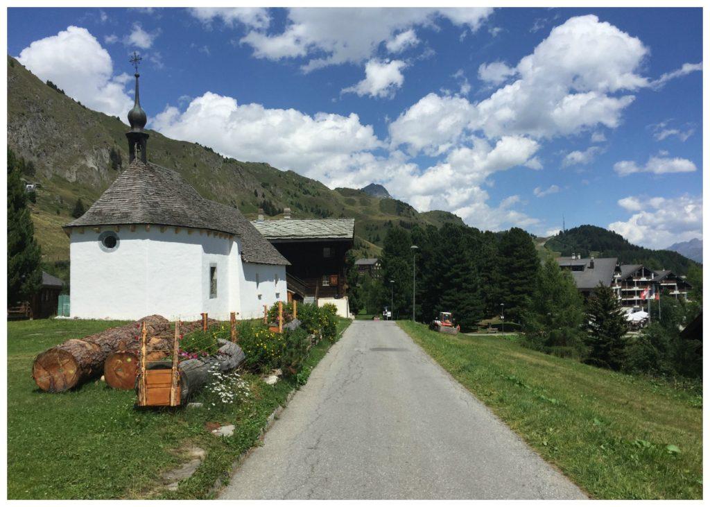 Riederalp village