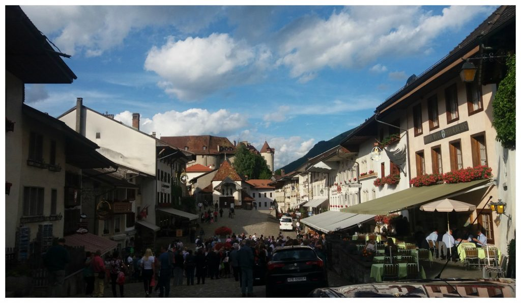 The village of Gruyères