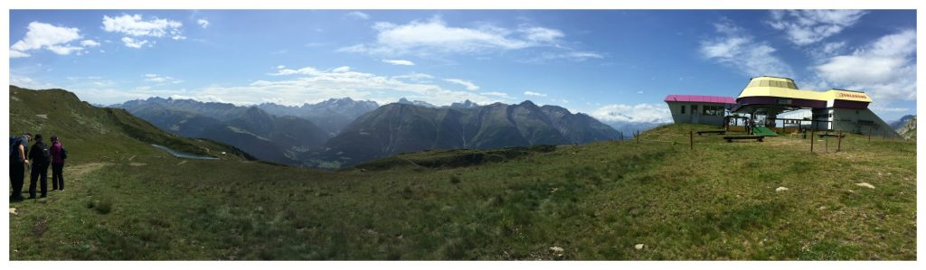 The walk today from Schöbiel to Fiescheralp