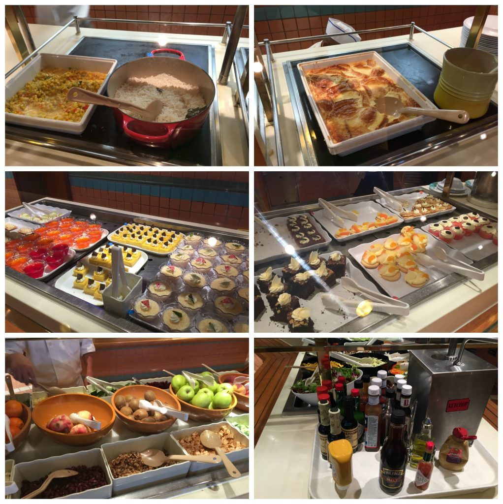 Crown Princess buffet