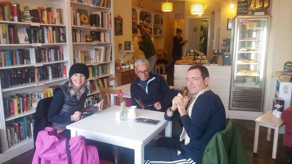 Coffee in the Poet's Corner cafe