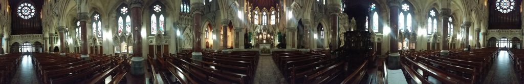 Inside St Colmans Cathedral Ireland
