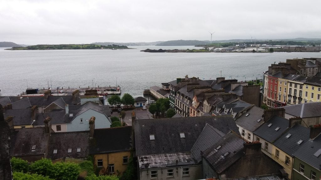 View over Cobh from the Cathedral