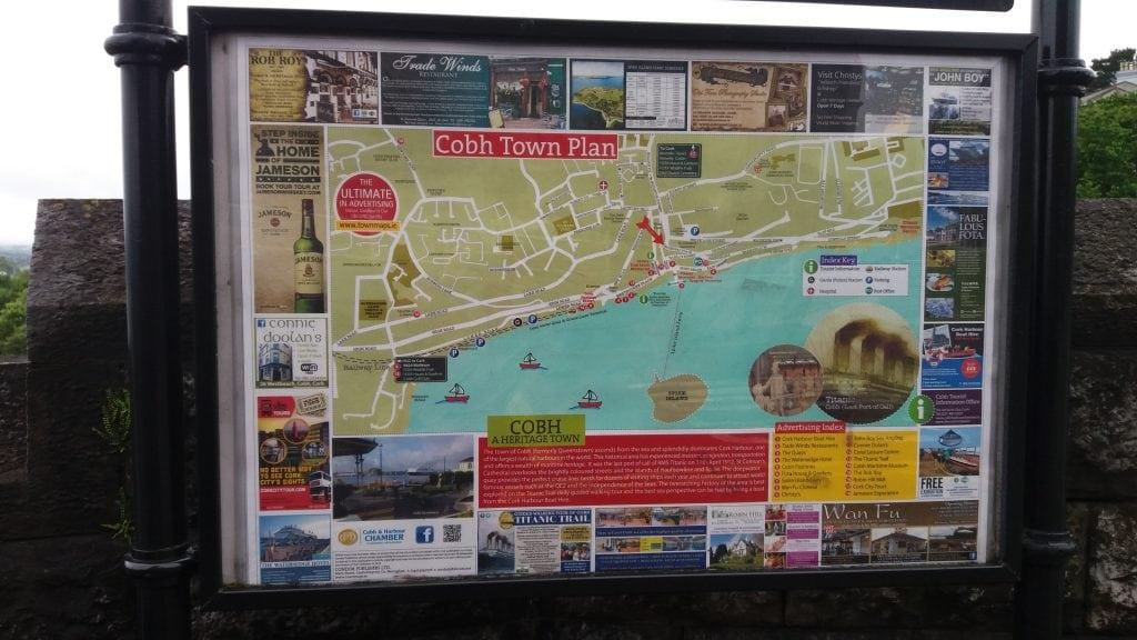 Map of Cobh