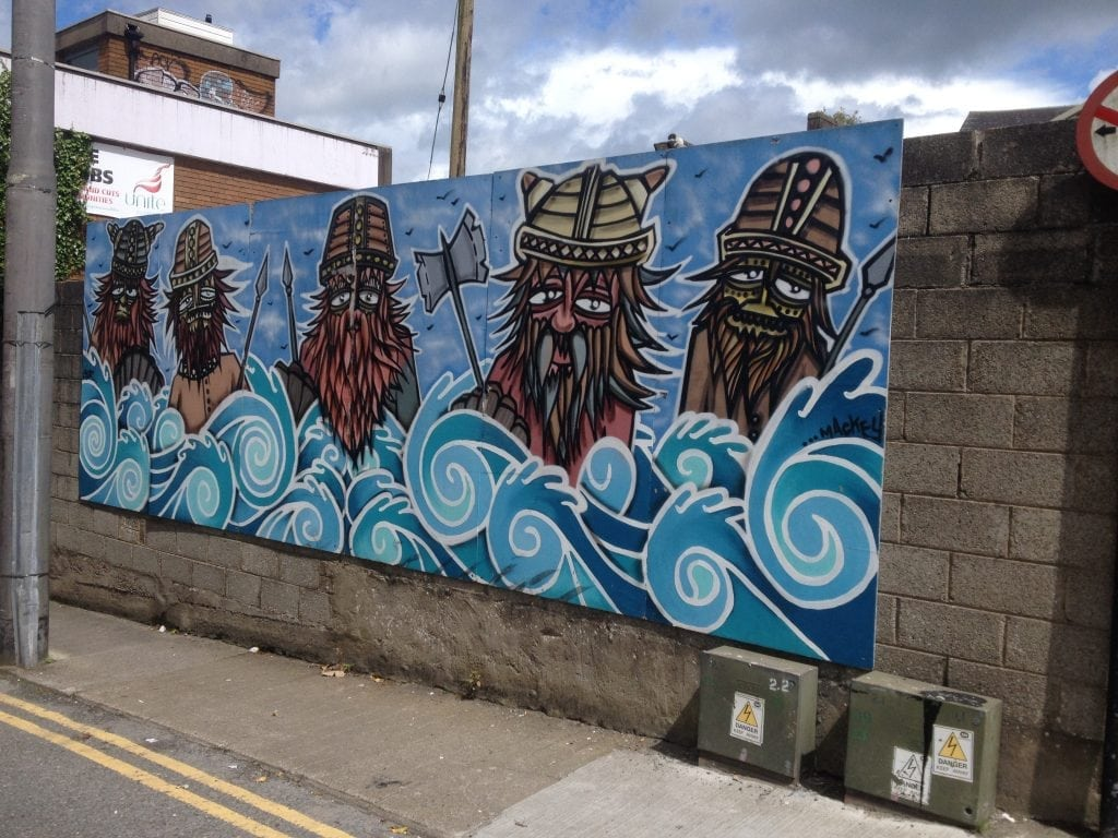 Art on Waterford walls
