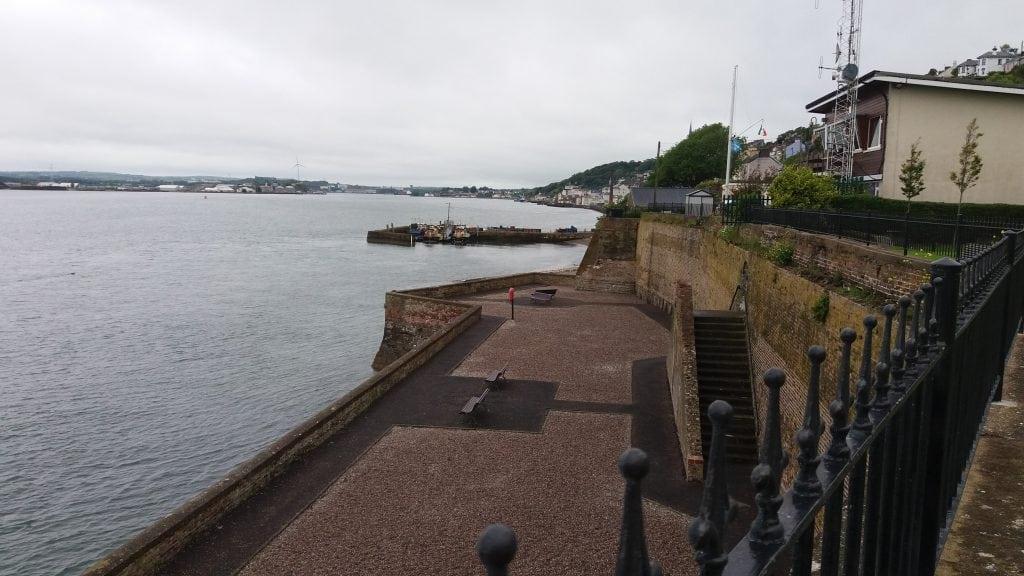 View from Titanic Memorial Garden