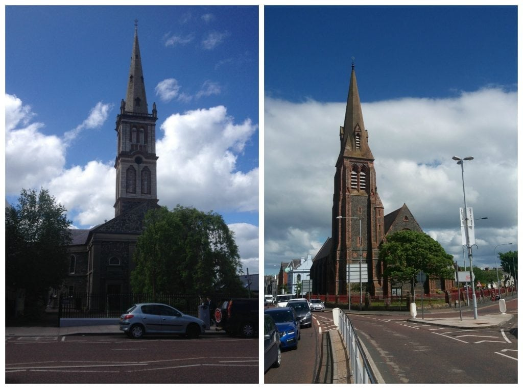 Couple of churches in Bangor