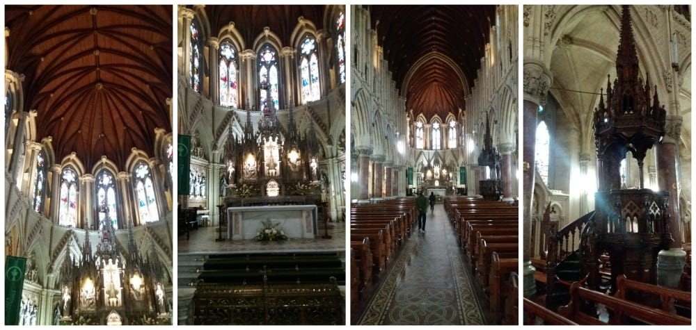 Inside St Colmans Cathedral