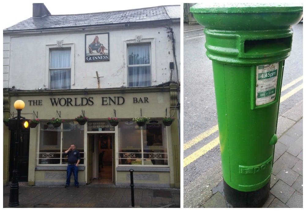 Irish green letterbox